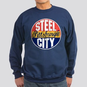 Pittsburgh Vintage Label Sweatshirt (dark)