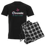 Oceanic Airlines Men's Dark Pajamas