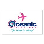 Oceanic Airlines Sticker (Rectangle)