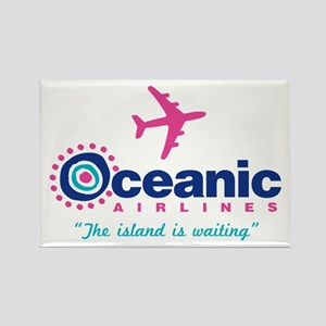 Oceanic Airlines Rectangle Magnet