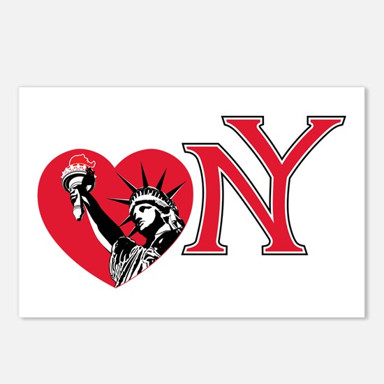 Love NY Postcards (Package of 8)