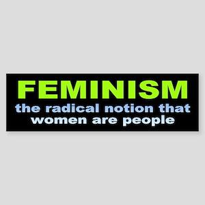 feminism... Bumper Sticker