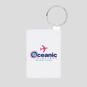 Oceanic Airlines Aluminum Photo Keychain