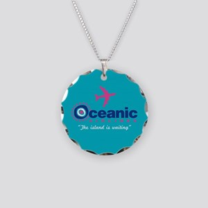 Oceanic Airlines Necklace Circle Charm