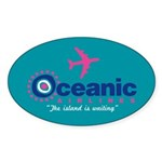 Oceanic Airlines Sticker (Oval 10 pk)