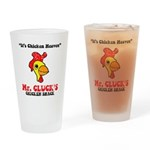 Mr. Cluck's Drinking Glass