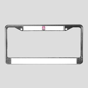 Super Mom Super Wife License Plate Frame