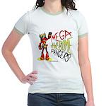 Mega Awesome Rangers Jr. Ringer T-Shirt