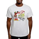 Mega Awesome Rangers Light T-Shirt
