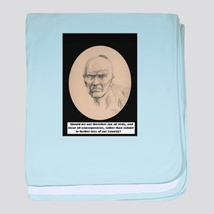 Chickamauga Native American baby blanket