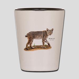Bobcat Shot Glass