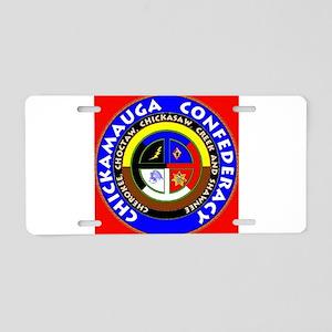 Chickamauga Confederacy Aluminum License Plate