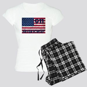 911 Grunge Flag Women's Light Pajamas