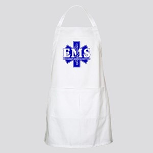 Star of Life EMT - blue Apron