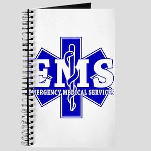 Star of Life EMT - blue Journal