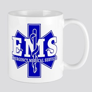 Star of Life EMT - blue Mug