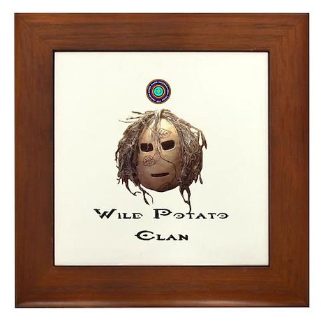 Wild Potato Clan Framed Tile