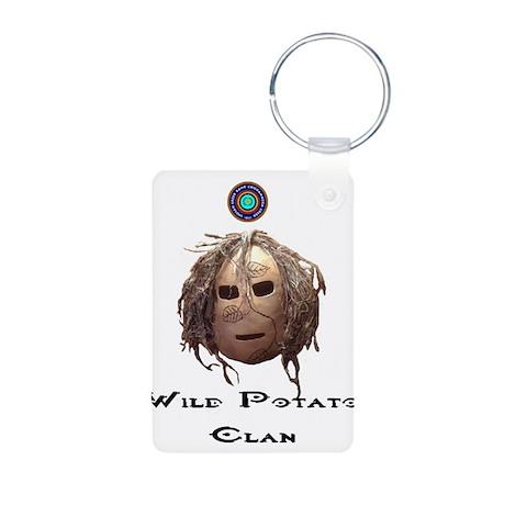 Wild Potato Clan Aluminum Photo Keychain