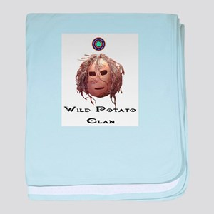 Wild Potato Clan baby blanket