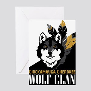 Wolf Clan Greeting Card