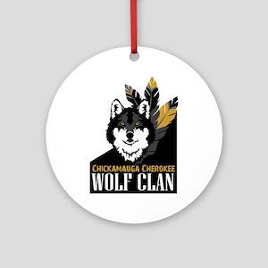 Wolf Clan Ornament (Round)