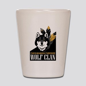Wolf Clan Shot Glass