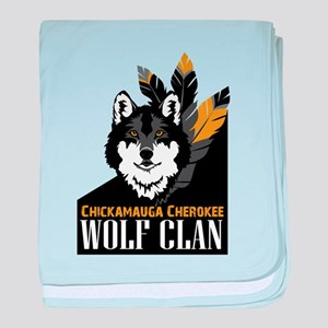 Wolf Clan baby blanket