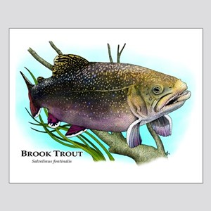 Brook Trout Small Poster