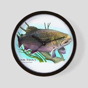 Brook Trout Wall Clock