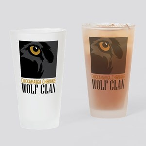 Wolf Clan Drinking Glass