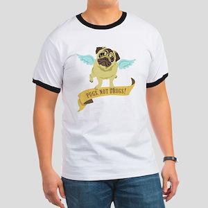 Pugs Not Drugs (Angel) Ringer T