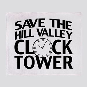 Save The Clock Tower Throw Blanket
