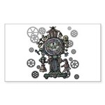 Clock Sticker (Rectangle 10 pk)