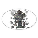 Clock Sticker (Oval 50 pk)