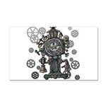 Clock Car Magnet 20 x 12