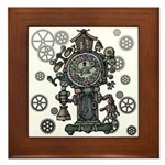 Clock Framed Tile