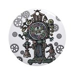 Clock Ornament (Round)