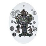 Clock Ornament (Oval)