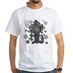 Clock White T-Shirt