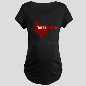 TXnativeRED Maternity T-Shirt