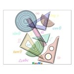 Geometry Small Poster