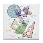 Geometry Tile Coaster