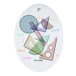 Geometry Ornament (Oval)