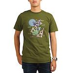 Geometry Organic Men's T-Shirt (dark)