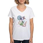 Geometry Women's V-Neck T-Shirt