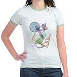 Geometry Jr. Ringer T-Shirt