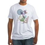 Geometry Fitted T-Shirt