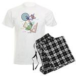 Geometry Men's Light Pajamas