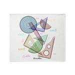 Geometry Throw Blanket