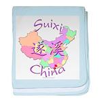 Suixi China baby blanket